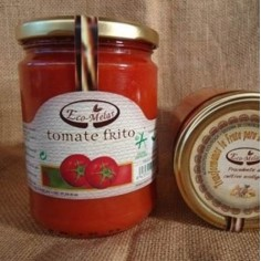 Organic fried tomato.Tomato...