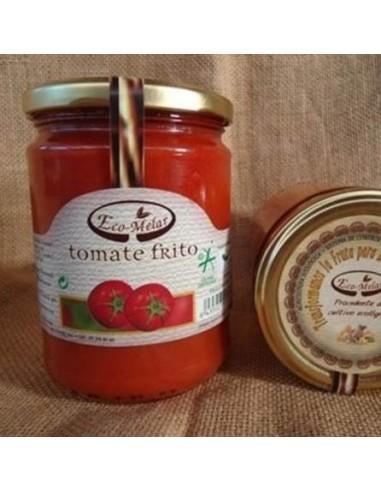 Organic fried tomato.Tomato sauce.