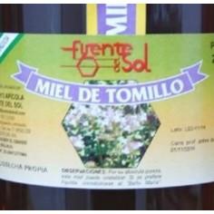 Thyme honey.-Fuente del Sol.