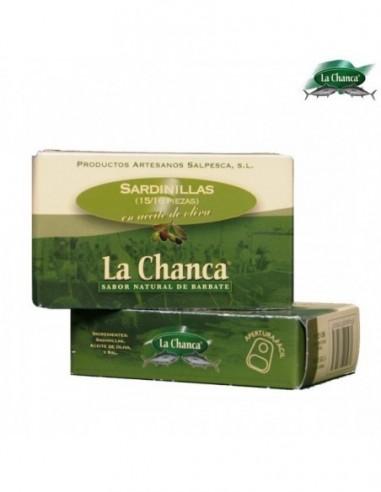 Small sardines in olive oil. La Chanca