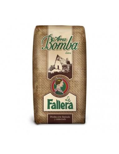 Bomba rice.- La Fallera