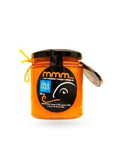 Homemade mango jam.-Jams from Málaga.