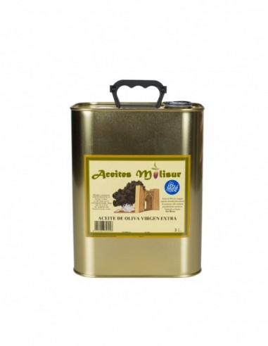 Extra virgin Olive oil - Molisur 3L