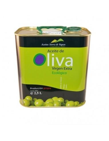 Organic extra-virgin olive oil.Sierra...