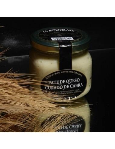 Paté de queso curado de cabra - La...