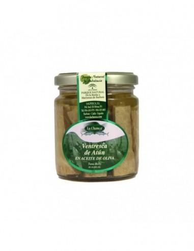 Ventresca de atún en aceite de oliva.