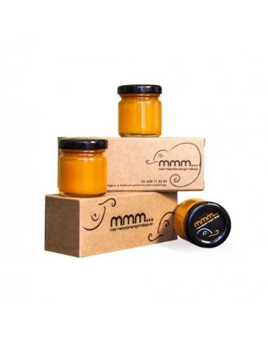 Medallas de queso joven en aceite de oliva ecológico.La Cabra Verde