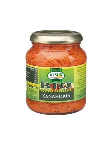Organic carrot.- Alsur 330gr