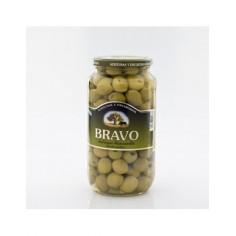 Pitted Manzanilla olive.