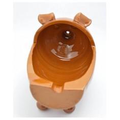 Plato-bandeja de cerámica para cocinar.