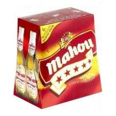Cerveza Mahou 5...