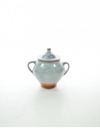 Azucarero  de cerámica hecho y...