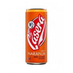 La Casera Naranja lata 0.33 ml