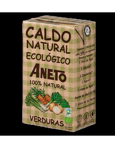 CALDO NATURAL ECOLÓGICO DE VERDURAS -...