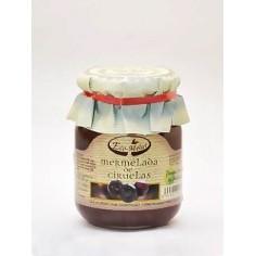 Organic plum jam