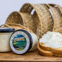 Crema de queso curado de...